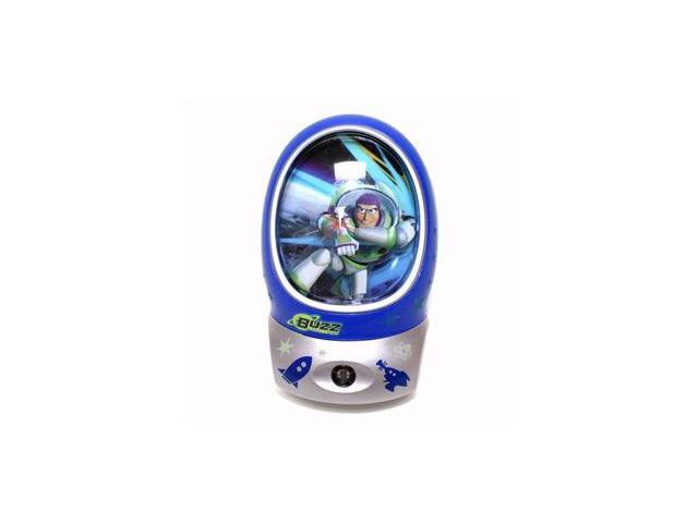 Energizer-Eveready 07758 - Disney Pixar Toy Story Buzz Lightyear 3D Effect Plug-In LED Auto On Night Light (BUZLNLBP)