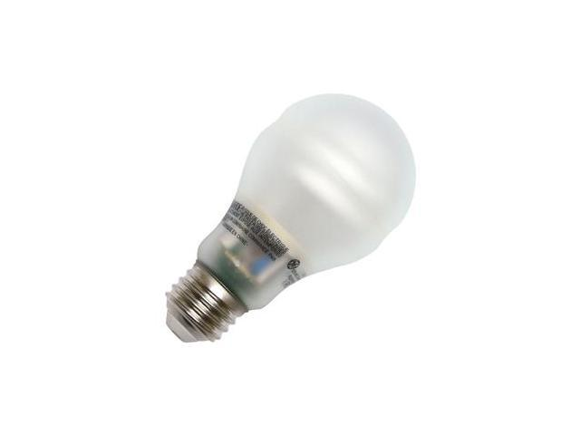GE 63497 - FLE9IB19/2/SWCD Pear A Line Screw Base Compact Fluorescent Light Bulb