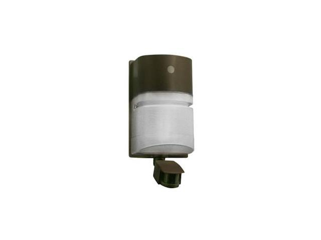 Hubbell 01932 - 42 watt 120 volt Bronze CFL Wall Pack with Motion Sensor (NRG-204B-MS)