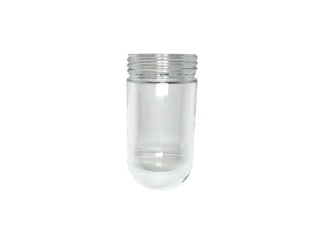 westinghouse 81448 threaded clear glass jelly jar for. Black Bedroom Furniture Sets. Home Design Ideas