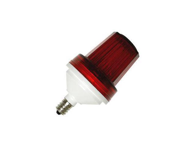 Candelabra Screw (E12) Base - Flat Top - Red | Action Lighting Tower Strobe  sc 1 st  Newegg.com & Candelabra Screw (E12) Base - Flat Top - Red | Action Lighting ... azcodes.com