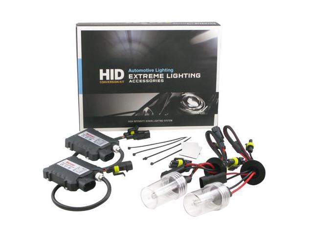 ApolloX Slim H13 9008 5000k High/Low Beam Xenon Light HID Conversion Kit