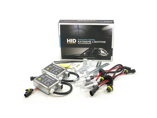 ApolloX H4 8000k High/Low Beam Xenon Light HID Conversion Kit