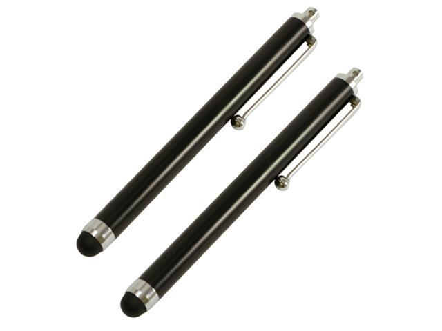 2pc Black Stylus for Apple Ipad, Xoom and all Capacitive Screens - OEM