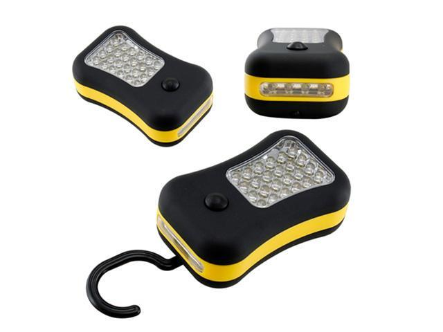 Portable Super Bright 28 LED Magnetic Hanging Hook Flashlight Spot Light Camping