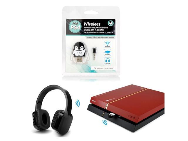penguin united bluetooth wireless headset headphone. Black Bedroom Furniture Sets. Home Design Ideas