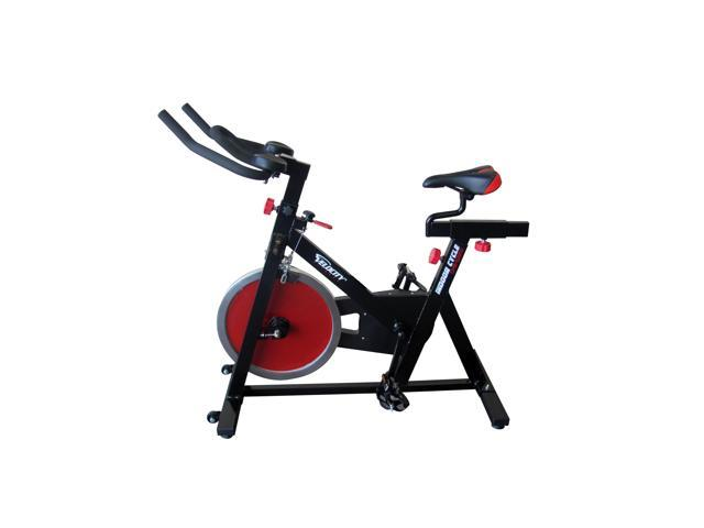 Velocity Fitness Black/ Red Indoor Cycle