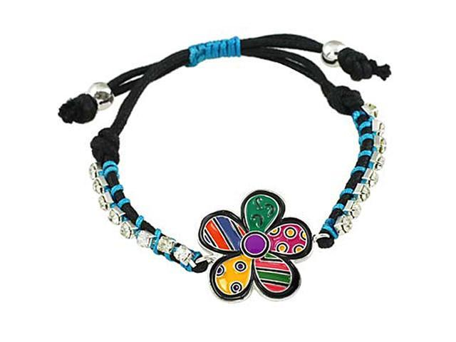 Multi Color Epoxy Flower Friendship Fashion Bracelet