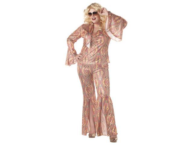 DiscoLicious Plus Womens Costume