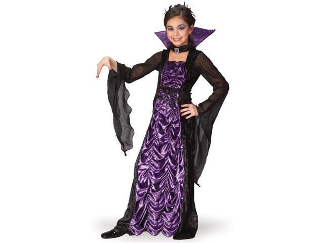 Child  Vampire Countess Of Darkness Costume