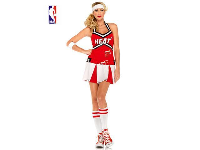 Adult Miami Heat Cheerleader Costume by Leg Avenue N83967