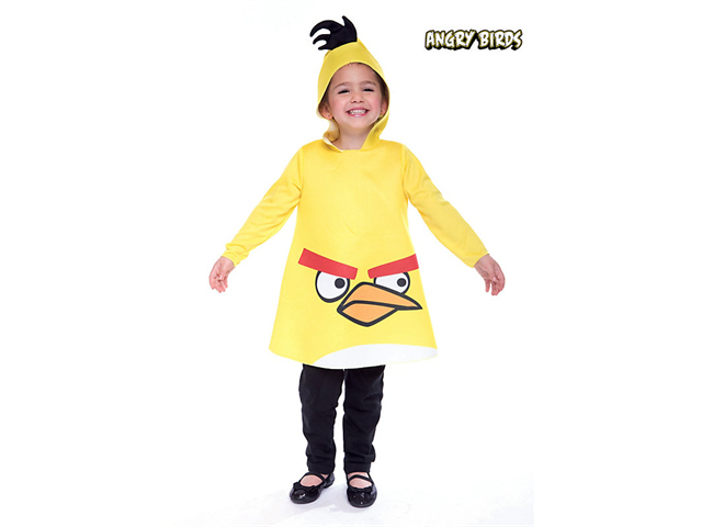 Toddler Angry Birds Yellow  Bird by Paper Magic Group 6748313
