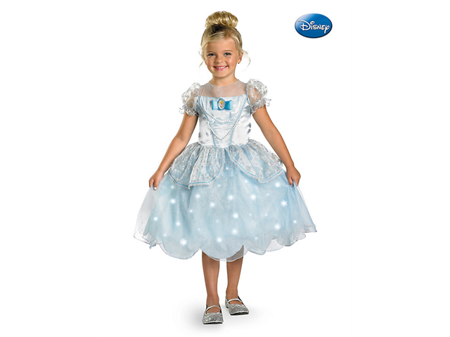 Disney Child Cinderella Light-Up Costume Disguise 38351