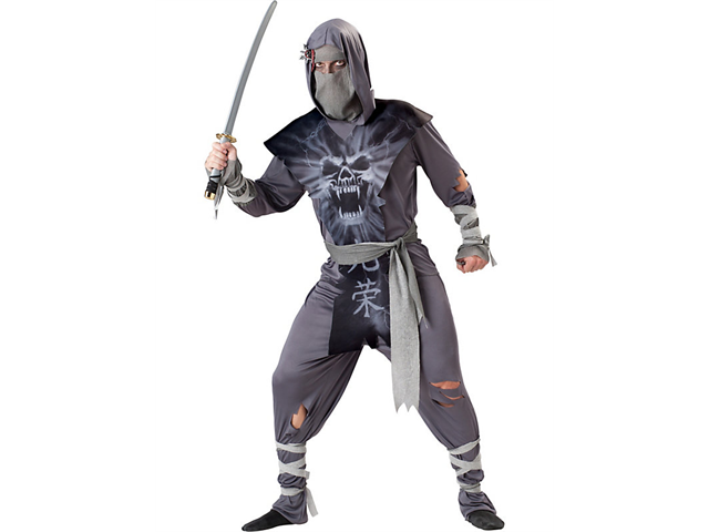 Ninja Zombie Men's Costume