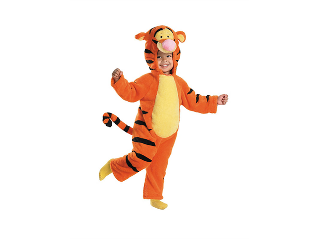 Toddler Deluxe Tigger Costume Disguise 6580