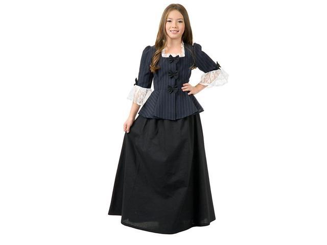 Girls Colonial Child Martha Washington Costume