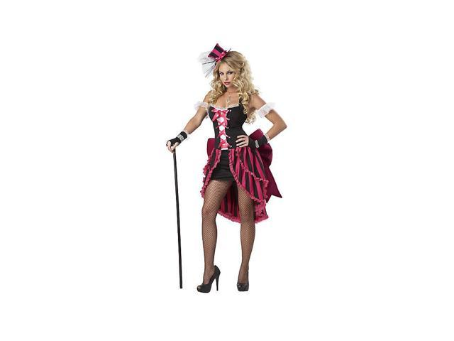 Sexy Womens Parisian Showgirl Costume