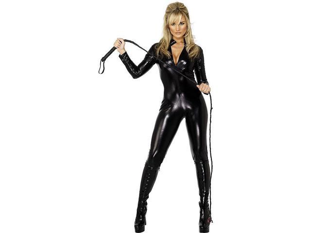 Miss Whiplash Women's Sexy Black Costume