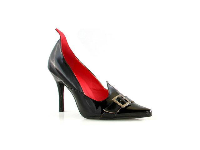 Witchy Black Patent Shoe