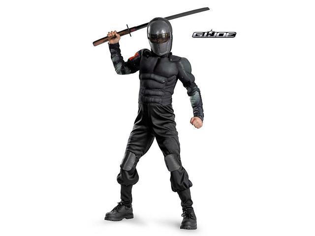 Classic Muscle Snake Eyes G.I. Joe Kids Costume
