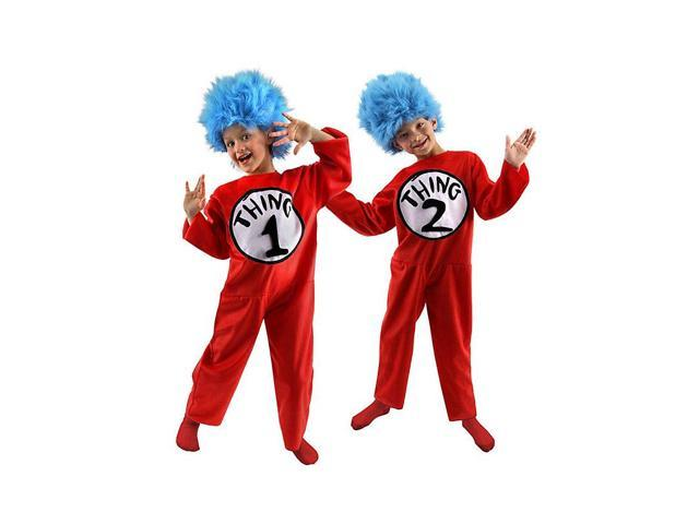 Deluxe Dr. Seuss Thing 1 or Thing 2 Child Costume