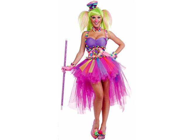 Sexy Tutu Lulu the Clown Costume for Women