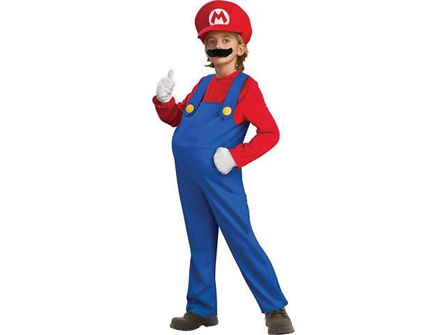 Deluxe Super Mario Bros Mario Costume for Boys