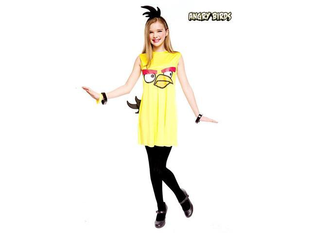 Yellow Bird Angry Birds Girl's Costume