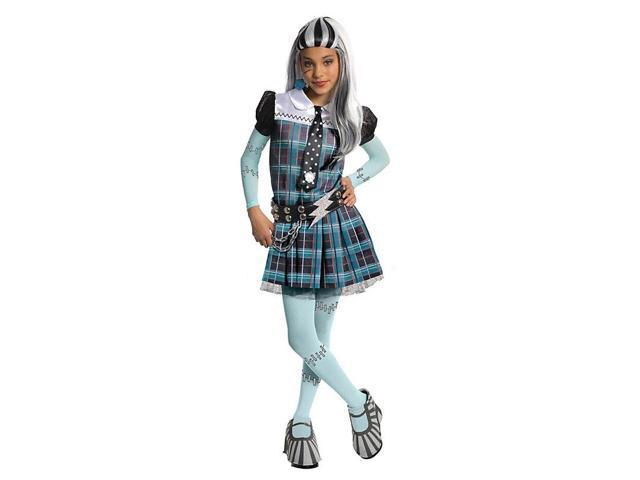 Girl's Deluxe Frankie Stein Monster High Costume