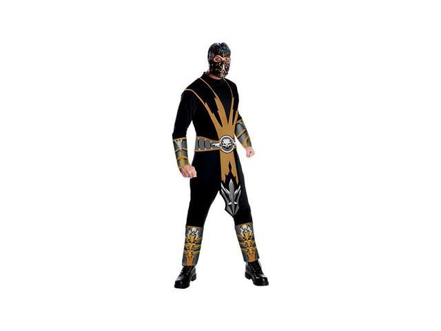 Mortal Kombat Scorpion Costume for Adults