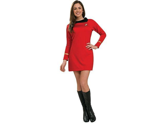 Women's Star Trek Classic Red Dress Costume