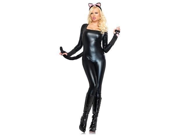 Black Catsuit Sexy Women's Costume