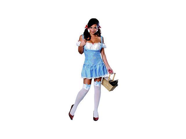 Women's Sexy Sparkly Dorothy Costume