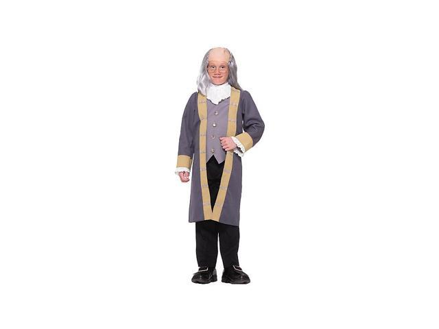Classic Ben Franklin Boy's Costume
