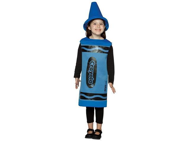 Kid's Crayola Blue Crayon Costume