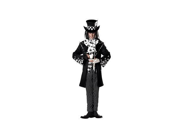 Dark Mad Hatter Men's Costume - Medium