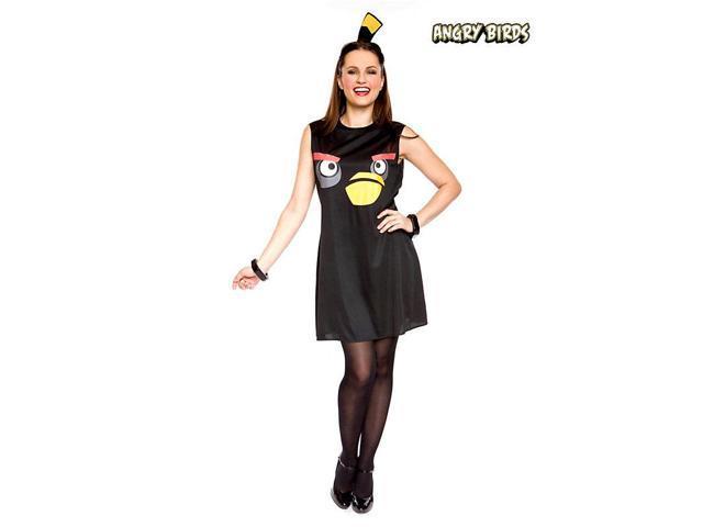 Angry Birds Sassy Black Bird Costume - Womens
