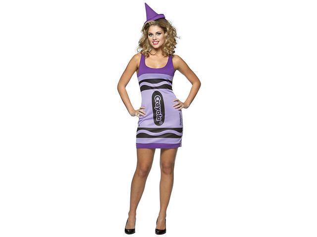Wisteria Purple Crayola Crayon Women's Costume