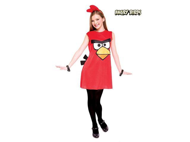 Red Bird Angry Birds Girl's Costume