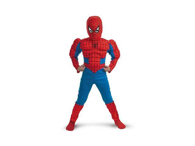 Muscle Chest Spider-Man Deluxe Boy's Costume