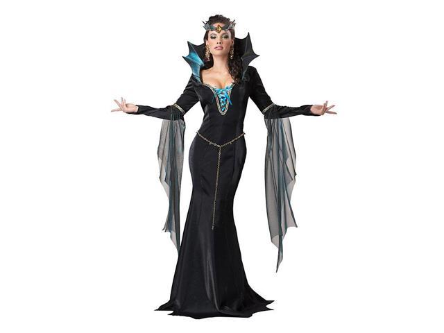 Womens Adult Evil Sorceress Costume