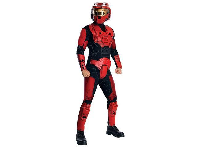 Halo Deluxe Red Spartan Costume for Adults