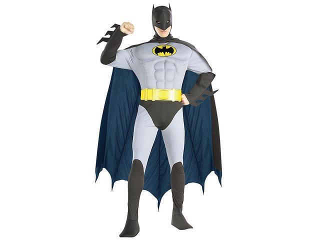 Men's Batman Muscle Chest Costume