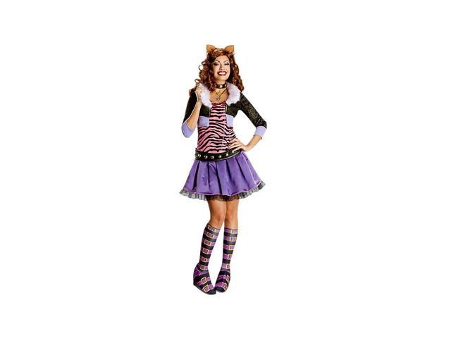 Deluxe Clawdeen Wolf Costume for Adults