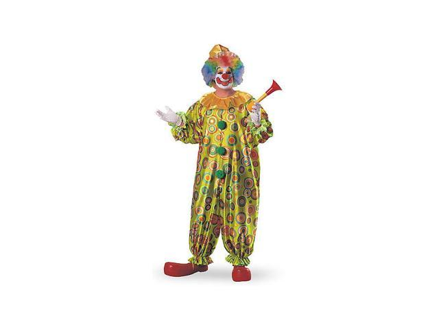 Jack the Jolly Clown Adult Costume - Plus Size