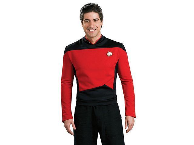 Men's Deluxe Star Trek TNG Red Shirt