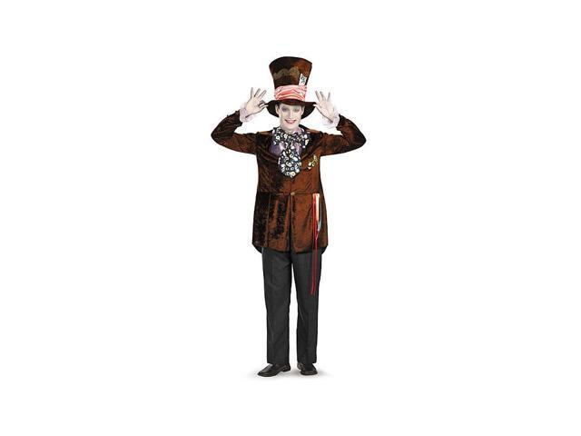 Alice in Wonderland Adult Mad Hatter Costume