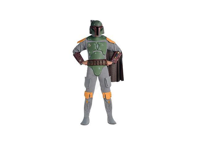 Men's Deluxe Boba Fett Star Wars Costume