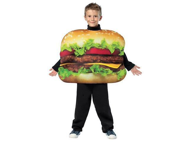 Child's Cheeseburger Costume