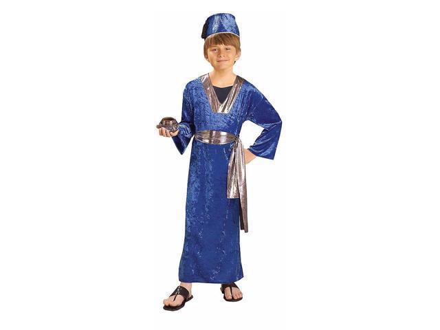 Boy's Blue Wiseman Costume